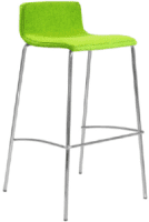 Elite Multiply 4 Leg Bar Stool with Upholstered Seat