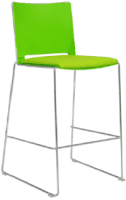 Elite Vice Versa Bar Stool With Upholstered Seat