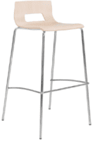 Elite Multiply 4 Legged Open Back Bar Stool