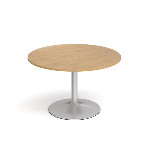 Dams Genoa Circular Dining Table With Trumpet Base 1200mm Diameter