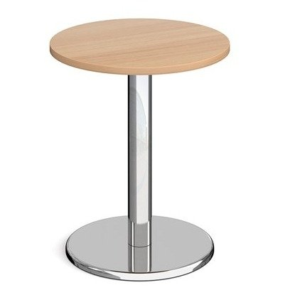 Dams Pisa Circular Dining Table With Round Base 600mm Diameter