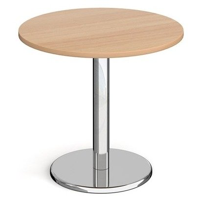 Dams Pisa Circular Dining Table With Round Base 800mm Diameter