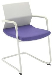TC Office Visor Cantilever Chair Bespoke Seat