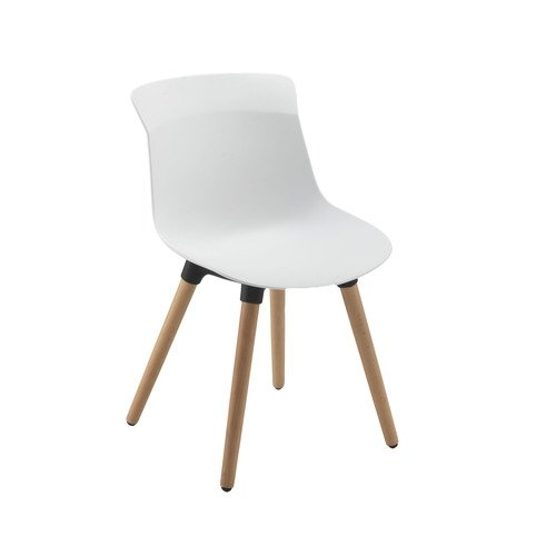 TC Office Chester Wooden 4 Leg Chair